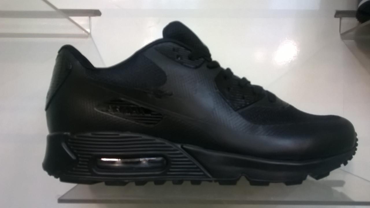dc9b1cf903d5 Мужские кроссовки Nike air max 90 Hyperfuse черные - Интернет магазин  krossovkiweb.kiev.ua