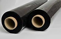 Стретч пленка первичка 55см Черная 20мкм 2 кг 200м (Честный намот)