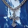 Серебряный крест с объемным распятием, 11 грамм, фото 5