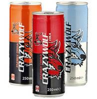 Энергетический напиток crazy wolf Бешанный Волк