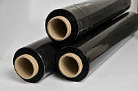 Стретч пленка первичка 55см Черная 20мкм 3,2кг 320м (Честный намот)