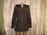 Коричневая куртка демисезон размер М (44-46)