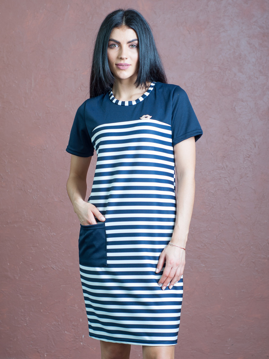 Женское повседневное летнее платье 46