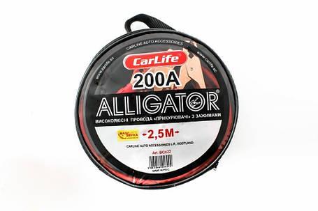 Провод прикуриватель CarLife BC622 200A, фото 2