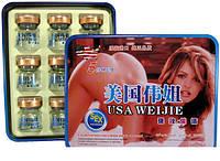 Возбуждающие капли Weijie  - афродизиак для женщин 9 флаконов