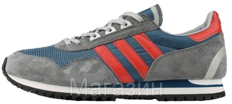 fa2f7ff59698 Мужские кроссовки Adidas Originals ZX 400 Grey (в стиле Адидас) серые