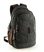 Городской рюкзак MOYYI Canvas Fashion BackPack 0056 (Black)
