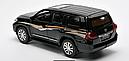 Машинка коллекционная Toyota Land Cruiser 200 Черная, фото 3