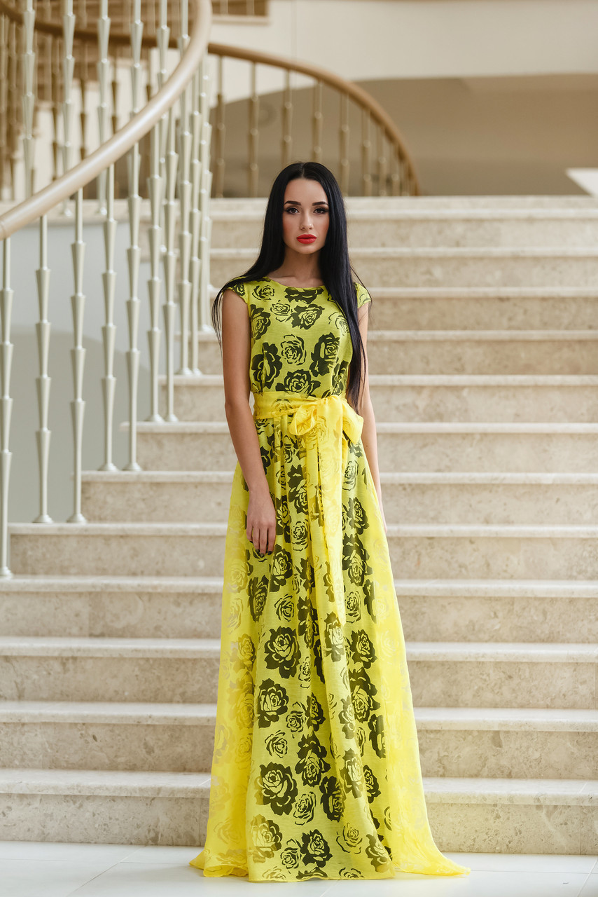 794ae48867eb Купить. В корзину · Элегантное вечернее платье (лён на органзе) имеет  длинный широкий пояс. В разных цветах