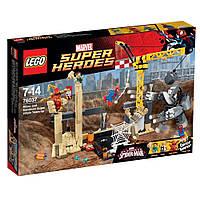 Пластиковый конструктор LEGO Super Heroes Рино и Песочный человек конструктор (76037)