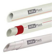 Трубы полипропиленовые pp-r alfa plast