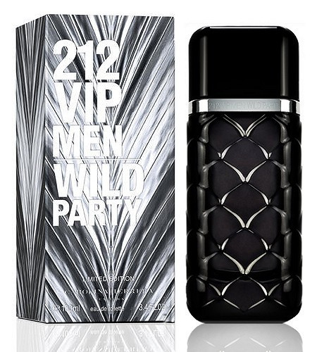 Carolina Herrera 212 VIP Men Wild Party туалетная вода 100 ml. (Каролина Эррера 212 Вип Мен Вилд Пати)