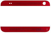 Aksline Верхняя + нижняя панель (накладка динамика) HTC One Max 803n Red