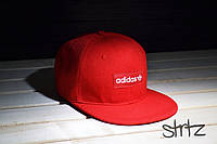 Красная рэперская кепка снепбек адидас,Adidas Originals Snapback Cap