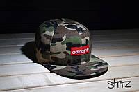 Камуфляжная кепка снепбек адидас,Adidas Originals Snapback Cap