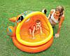 Детский надувной бассейн Intex  Ленивая рыбка с навесом 124х109х71 см (57109), фото 3