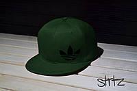 Зеленая рэперская кепка снепбек адидас,Adidas Originals Snapback Cap