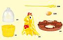Веселая игра для детей Забери яйца у Курицы