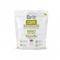 Brit Care Adult Small Breed Lamb&Rice с рисом и ягненком для взрослых собак мелких пород, 1 кг
