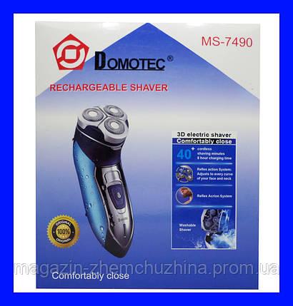 Электробритва Domotec MS-7490!Акция, фото 2