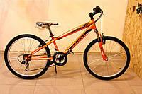 Горный спортивный велосипед 24 дюймов Azimut Extreme G-1 (оборудование SHIMANO)оранжевый ***
