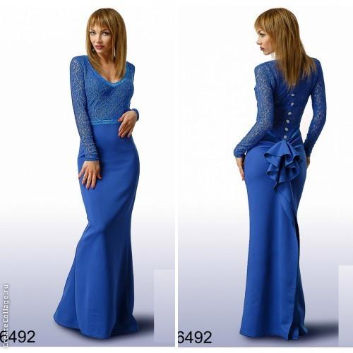 4fc4323bcb4 Вечернее платье в пол с ажурным верхом и оригинальной спинкой в расцветках  - IBERIS в Харькове