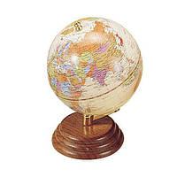 Глобус на деревянной подставке,95мм
