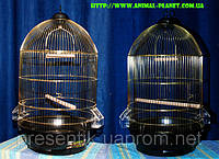 Клетка для средних попугаев , круглая клетка для попугаев, купотльная клетка для птиц№10