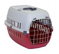 Переноска Moderna Road Runner 2 для собак, металлическая дверца, 58х35х37 см