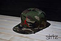 Камуфляжная кепка снепбек джордан,Jordan Snapback Cap