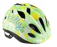 Велошлем детский Kellys Buggie Зелёный цветок
