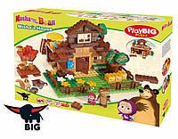 Конструктор в коробке 162 деталей Маша и Медведь BIG 57098