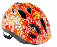 Велошлем детский Kellys Buggie Красный цветок