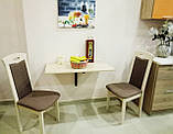 """Відкидний стіл """"Міні"""" ,вибір кольорів ДСП, фото 3"""