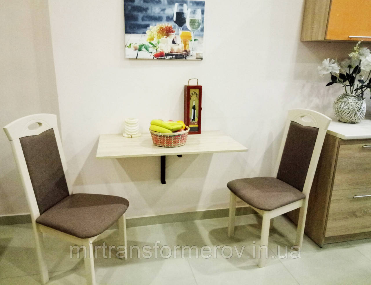 """Стол откидной """"мини"""": продажа, цена в александрии. столы кух."""