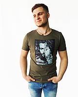 Мужская футболка с изображением