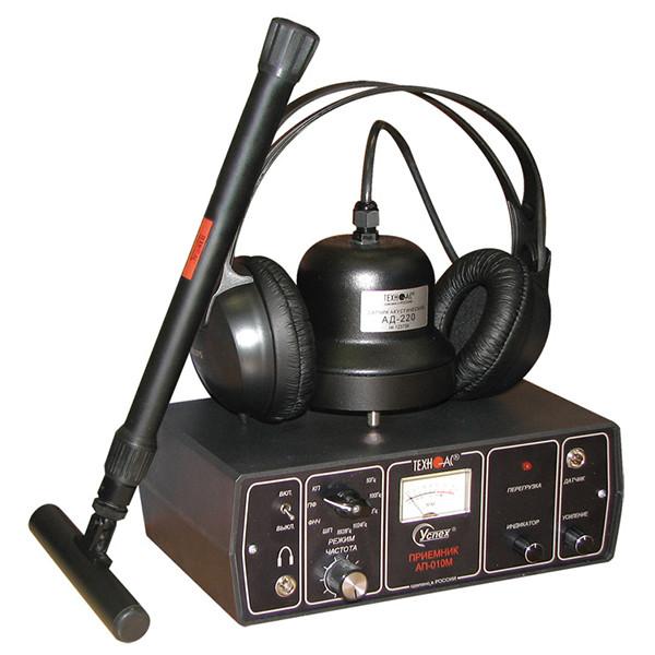 """Акустичний витокошукач з функцією пасивного виявлення кабелю """"Успіх АТП-204"""""""