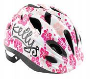 Велошлем детский Kellys Buggie Белый цветок, фото 1