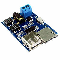 USB MicroSD TF MP3 модуль проигрыватель 3.7-5.5В