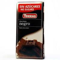 ШОКОЛАДКА Torras Negro 51% Черный Шоколад Без Сахара