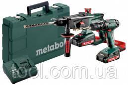 Metabo Combo Set 2.3.4 18 V: (набір) SB 18+KHA 18, 2xLi-Power 2,0Аг, SC 60 Plus, Валіза, артикул 685090000