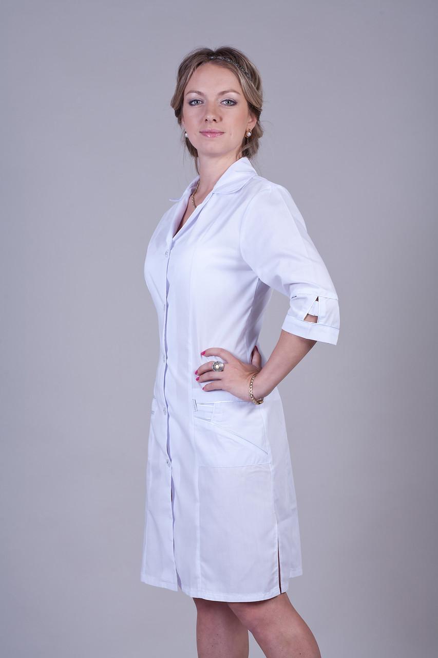 Медицинский халат 2123 (батист)