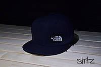Синий снепбек,рэперская кепка The North Face Snapback Cap