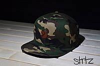 Камуфляжный снепбек,рэперская кепка Fjallraven Snapback Cap