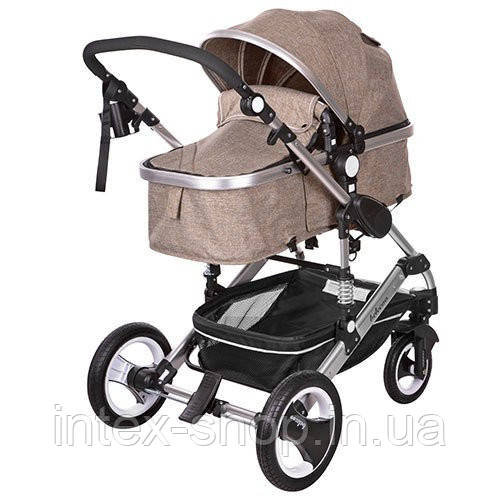 Детская коляска-трансформер Bambi Бежевая (535-Q3-KHAKI)