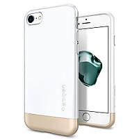 Чехол Spigen для iPhone 7  Style Armor, White, фото 1