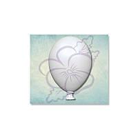 Молд от Арт ПроСвет - Воздушный шарик, 16x23 мм, 1 шт