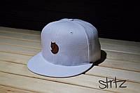 Белая рэперская кепка,снепбек Fjallraven Snapback Cap
