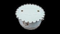 Ретро распаячная коробка белая комбинированная(Ромашка)