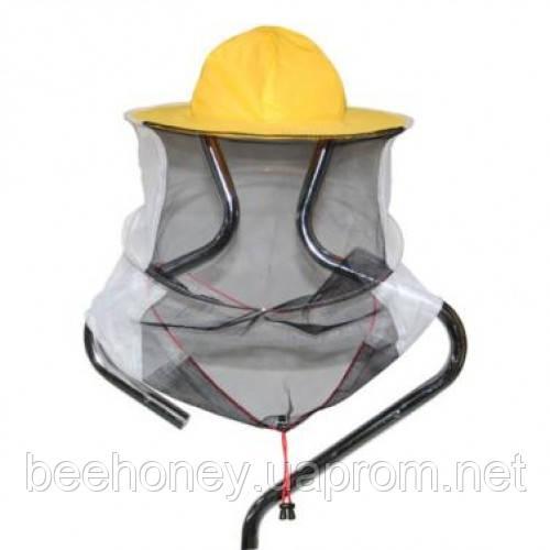 Маска пчеловода хлопчатобумажная (сетка сзади)